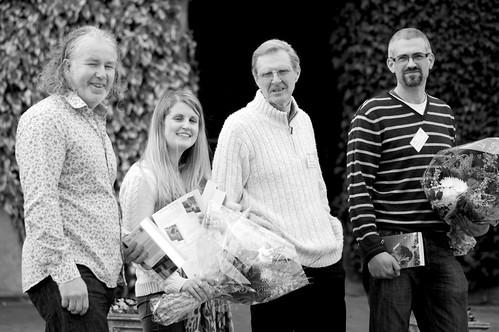 Richard Davies, Lisa Sheppard, M Wynn Thomas, Matt Jarvis DSC_2637   by Plashing Vole