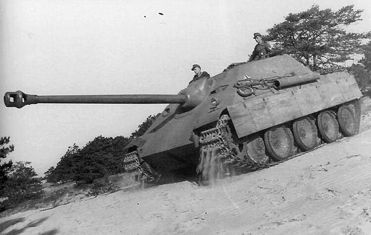Jagdpanther Schwere Panzerjager Abteilung