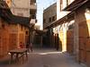 Sidon, podvečer na súku, krámky jsou již zavřené, foto: Milena Šumanová