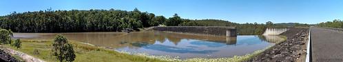 panorama water dam structures australia reservoir nsw manmade spillway kyogle toonumbar