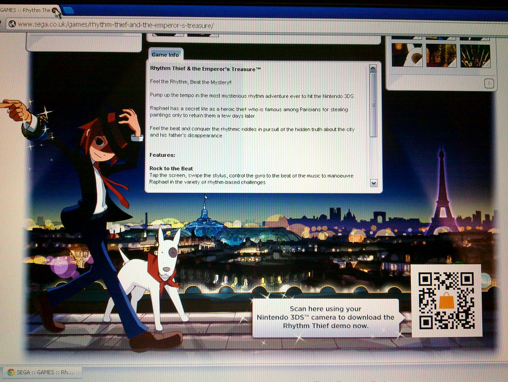 Rhythm King - 3DS demo QR code | Nick Jones | Flickr