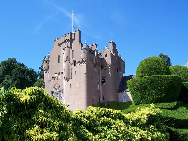 Scottish Field Magazine, Scottish Field Choice, Monthly Musings Section for August 2012, Crathes Castle, nr Banchory by allanmaciver