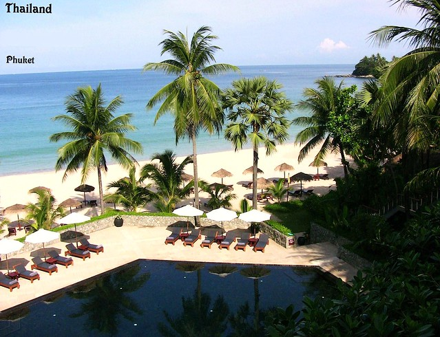 THAILAND-Phuket , Surin-Beach-Hotel , Pool   , 1