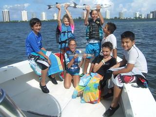 Barracuda catchers.