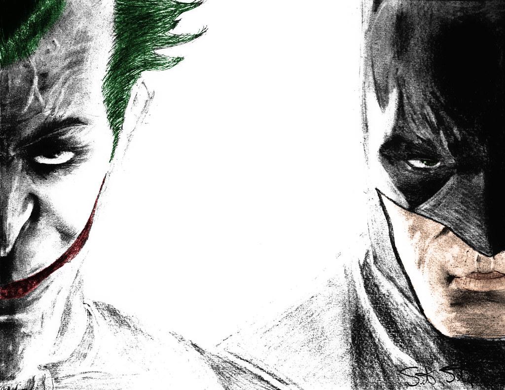 Batman joker sketch by nsohio44890 batman joker sketch by nsohio44890