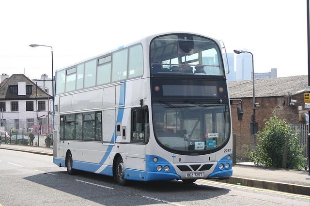2257 OEZ7257 Ulsterbus