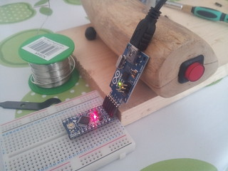 Programming Arduino pro mini with code for nightlight | by lilspikey