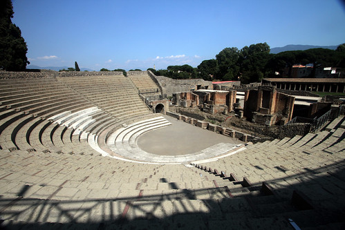 Pompeii large theater | by Basin St. Blue