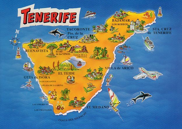 Map Of Spain Tenerife.Spain Map Tenerife Kyoto348 Flickr