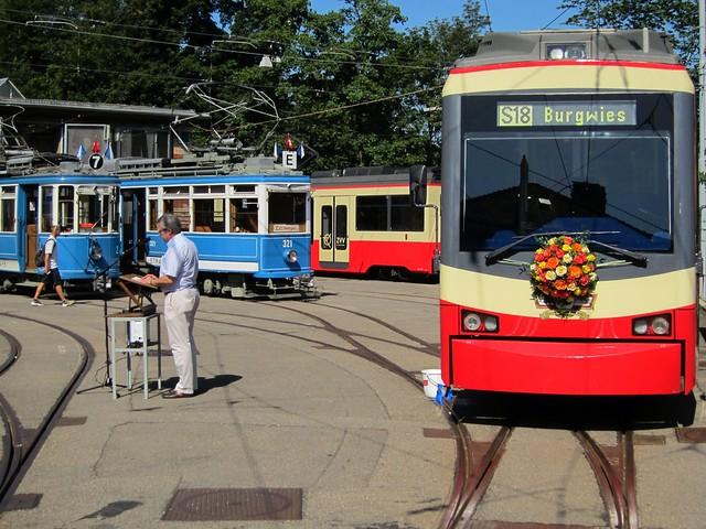 Tram Museum Zürich - Taufe Forchbahn 19.08.2012