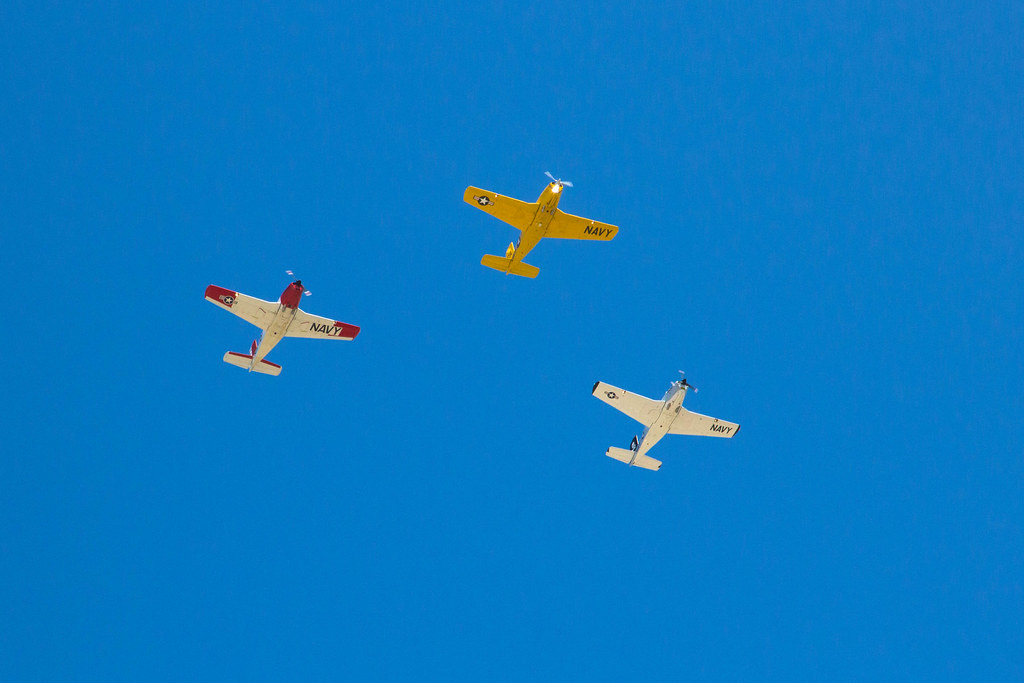 Nat planes fly over Torrance. May 21, 2016.