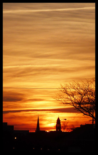 church clouds sunrise scenery downtown norfolk 2012 brambleton
