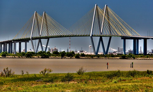 Fred Hartman Bridge | by J-a-x