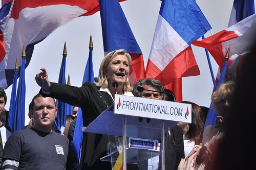 Meeting 1er mai 2012 Front National   by blandinelc