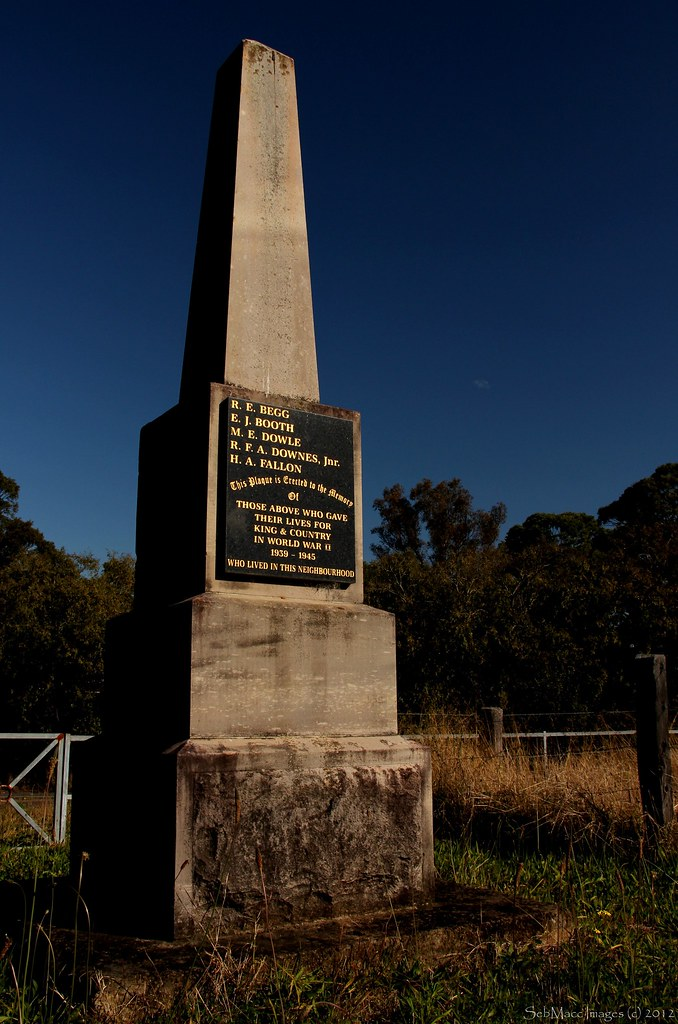 Monument to the Fallen - Cobbitty NSW