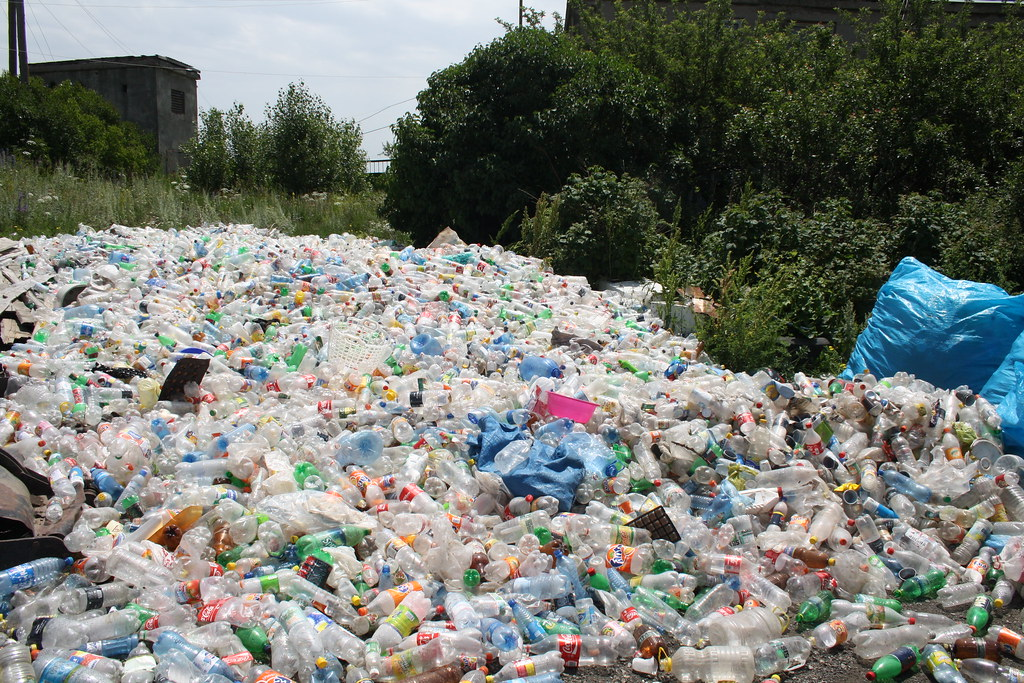 an estimated 5,000 to 6,000 tons of plastic waste is generated each year in Armenia - and growing.