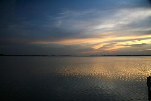 sunset lake water florida mtdora lakedora