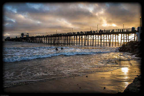 ocean california bridge blue orange sun reflection beach water clouds sunrise photography restaurant golden pier san waves sandiego cloudy surfer side wave diego diner pebbles oceanside surfers ruby rise carlsbad armando rubys peir carlbad missionave laudable vingochea