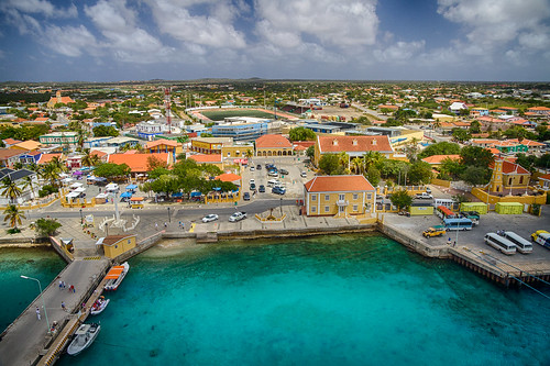 the Town of Kralendijk in Bonaire | by chris favero