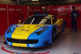 Team Ukraine's Ferrari 458 Italia