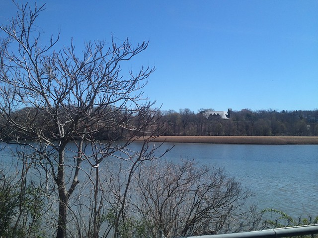 日, 2016-04-17 11:39 - Hudson River (view form Hudson Line, Metro-North)