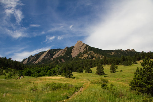 park summer mountain colorado day hiking sunny boulder trail flatiron flatirons chautauqua