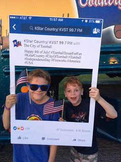 4th of July Tomball street party | by Kstar Country
