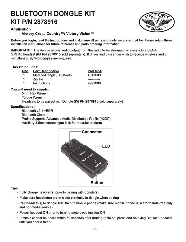 How to Install 2878916 Bluetooth Dongle Kit_Page_1