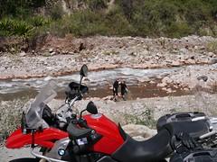 Das Motorrad wartet...