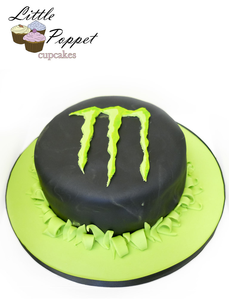 Stupendous Monster Energy Drink Birthday Cake Monster Energy Drink In Flickr Personalised Birthday Cards Paralily Jamesorg