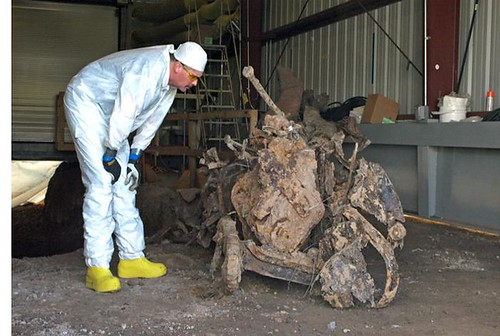 Manhattan Project truck unearthed at landfill cleanup site