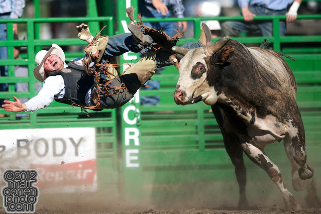 Ty Hamaker - 2012 Livermore Rodeo