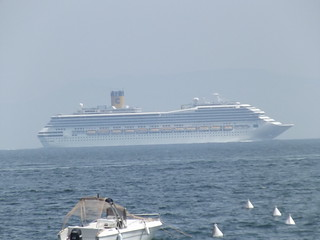 Via Francesco Caraccioio, Naples - cruise ship - Costa Magica | by ell brown