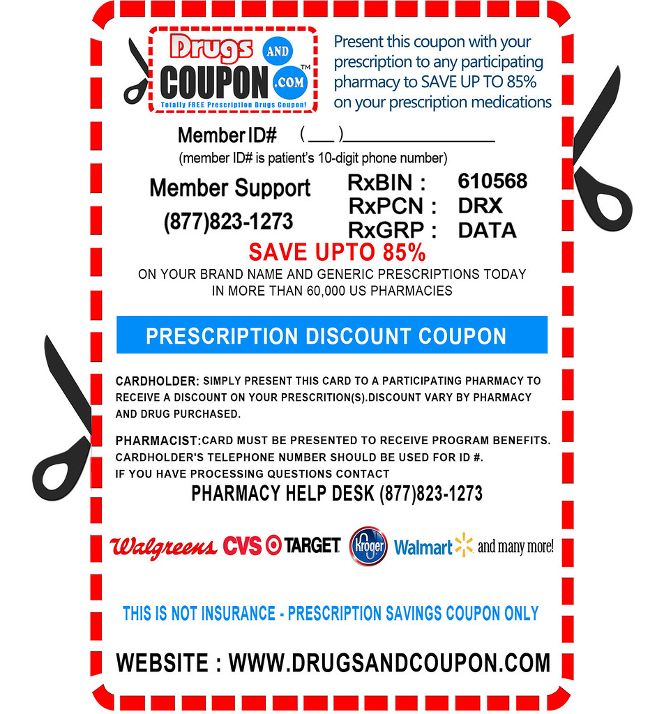 generic drugs discount coupons