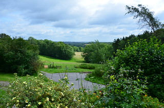 View from the cottage, Duckyl's Farm   by Runemester