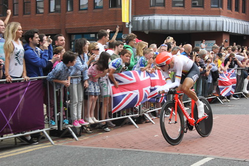 Tony Martin in London 2012 Olympic men's time trial | by EEPaul