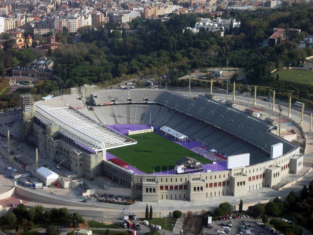 Bildresultat för Olympic Stadion, Barcelona