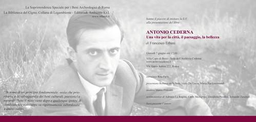 ROMA ARCHEOLOGIA: Antonio Cederna, l