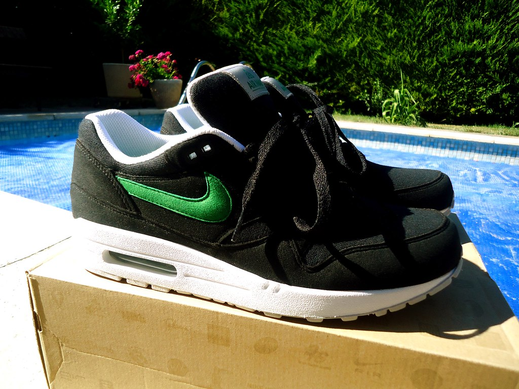 new product af258 183d0 ... Nike Air Max 1 ACG Black   Victory Green   by Sneaker Freak