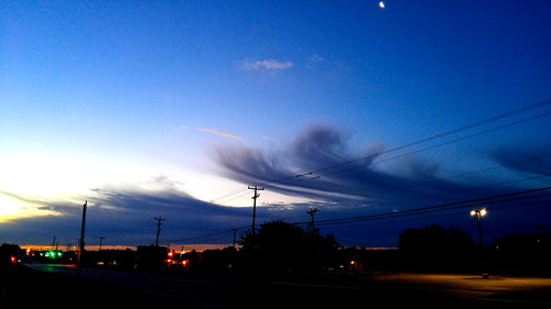 sky sanantonio clouds sunrise g4 texas lg bluehour phonecamera 2016 52weekchallenge