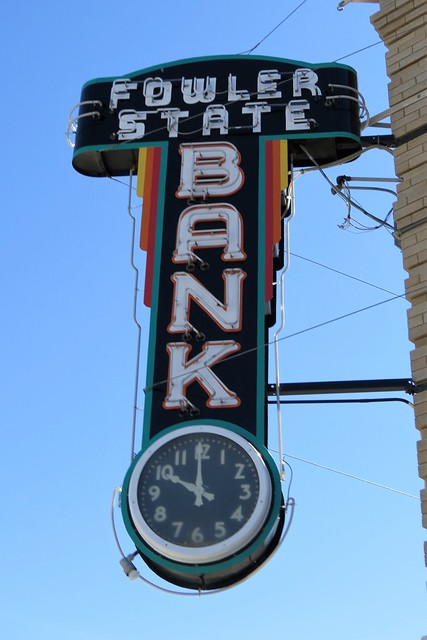 Great Old Clock Sign