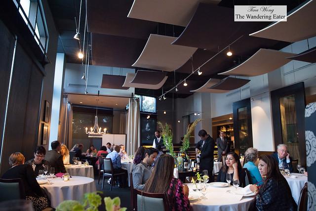 Interior of Restaurant Eugene