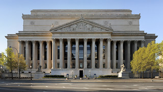 National Archives Building, Pennsylvania Ave side, 4/2/2012 | by archivesnews