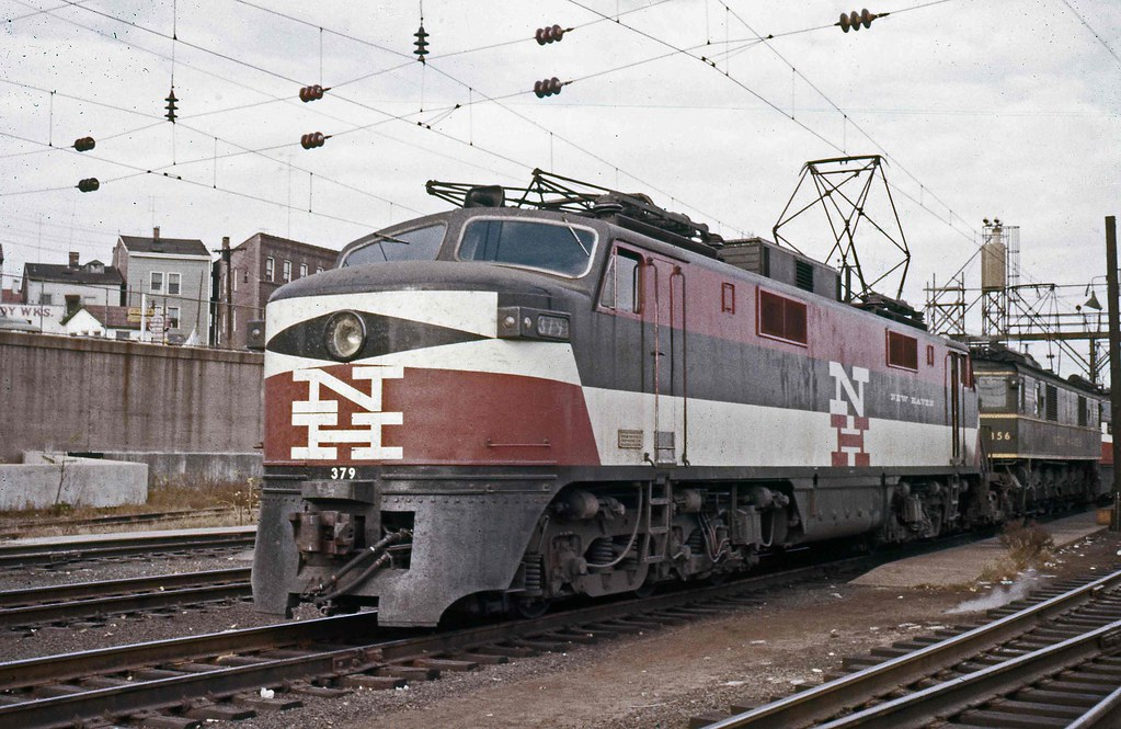 New Haven Railroad GE EP-5 motor # 371 broke down and is