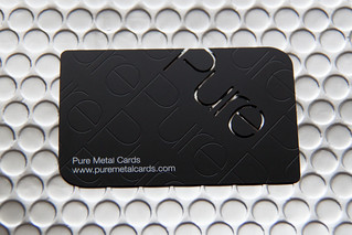Stainless Steel Prism Business Card by Pure Metal Cards | by Pure Metal Cards