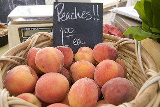 Gibbs Road Farm veggies (June 2012) peaches 2 | by Brookside Farmers' Market