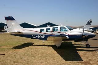 A2-AHF Beechcraft Be.58 Baron