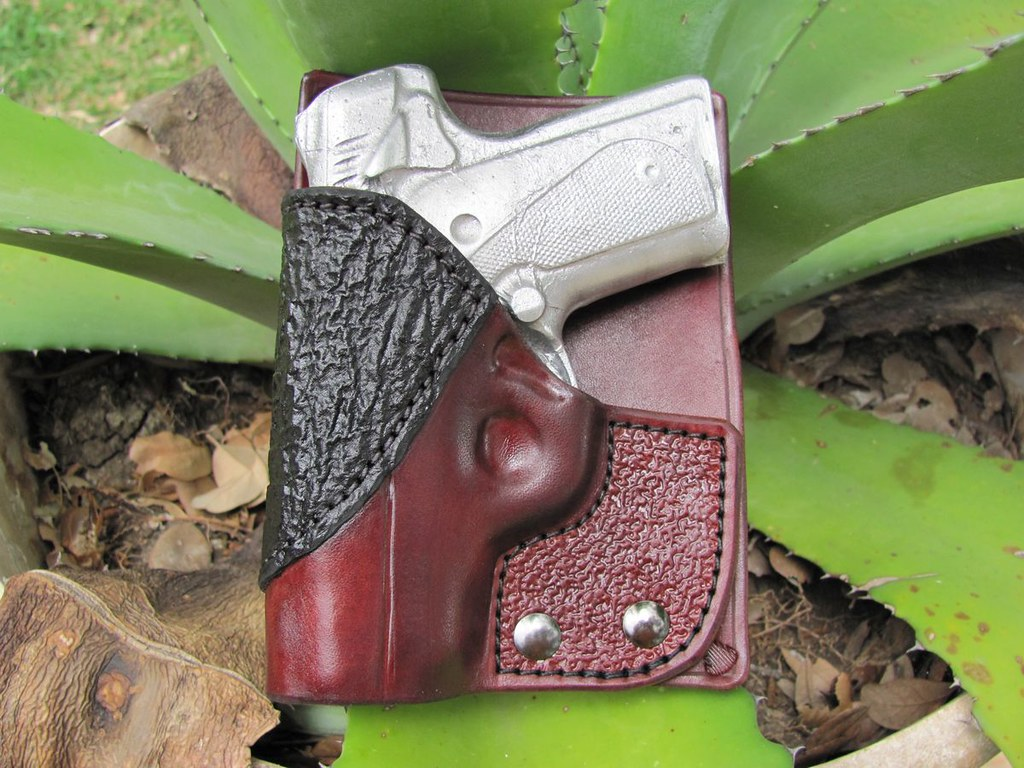 Kimber Solo Back Pocket mahogany--Black Shark | Kimber Solo