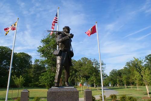 USCT Memorial Monument, Lexington Park