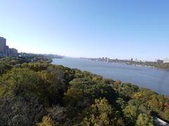 日, 2012-10-21 09:55 - George Washington Bridge からの眺め